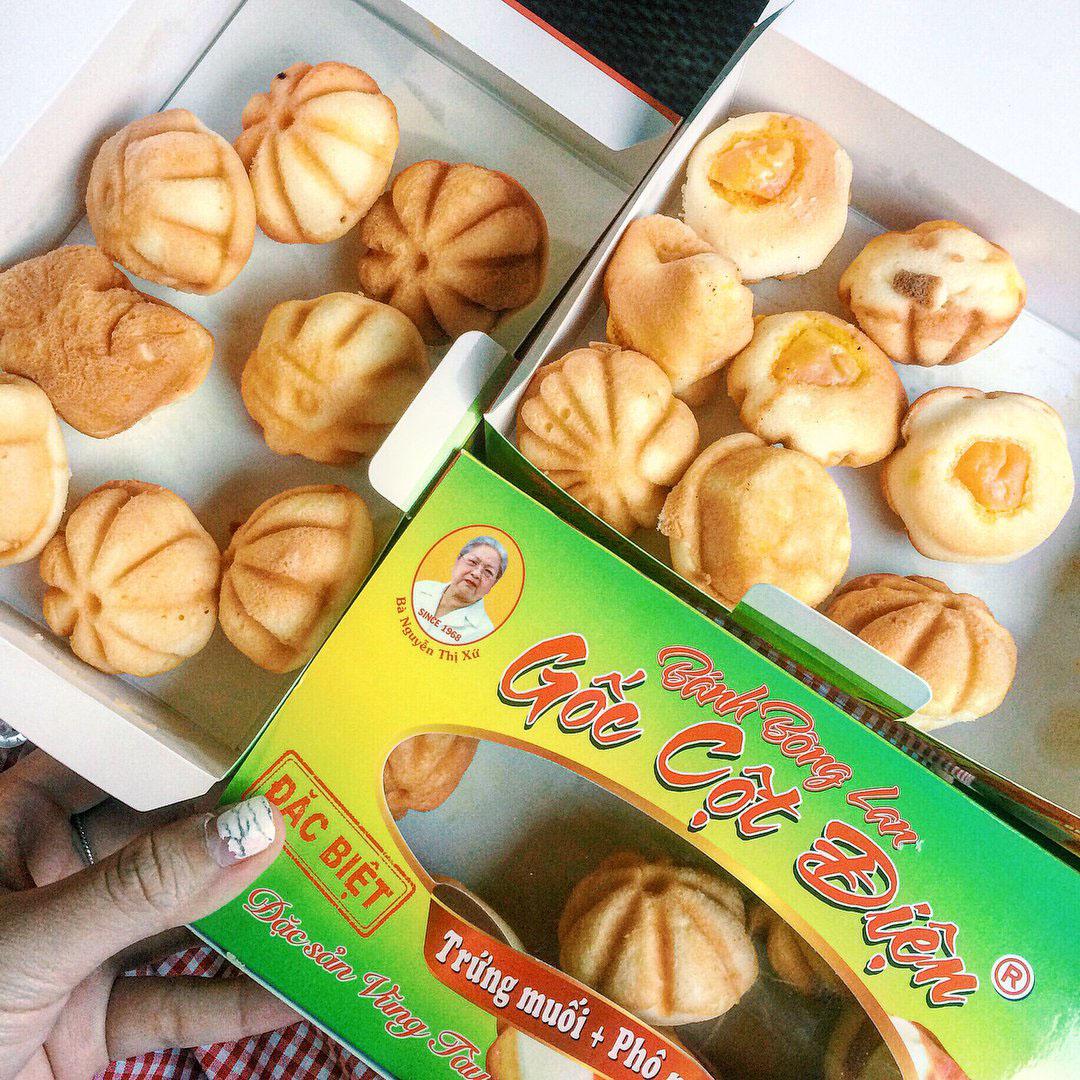 Bánh bông lan trứng muối, đặc sản Vũng Tàu làm quà
