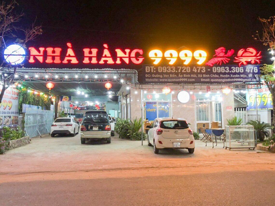 quán ăn hải sản bình châu