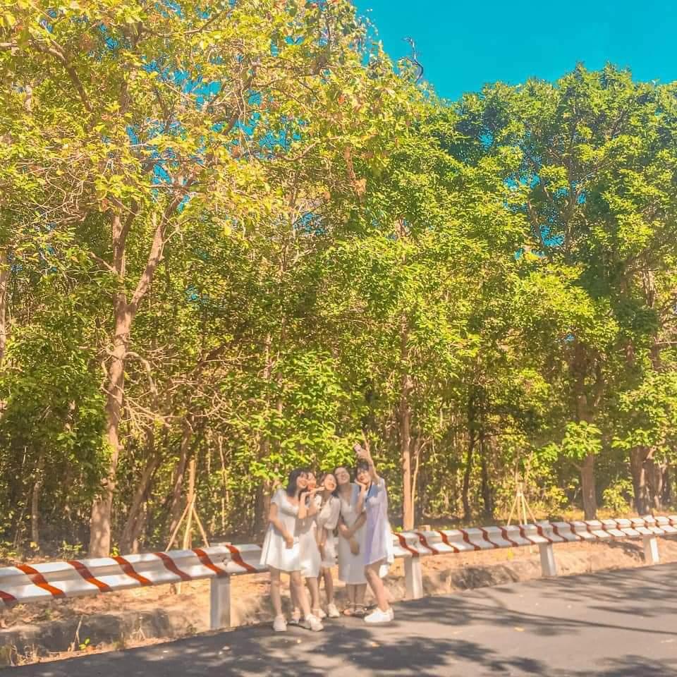 check in ở rừng nguyên sinh Bình Châu - Phước Bửu