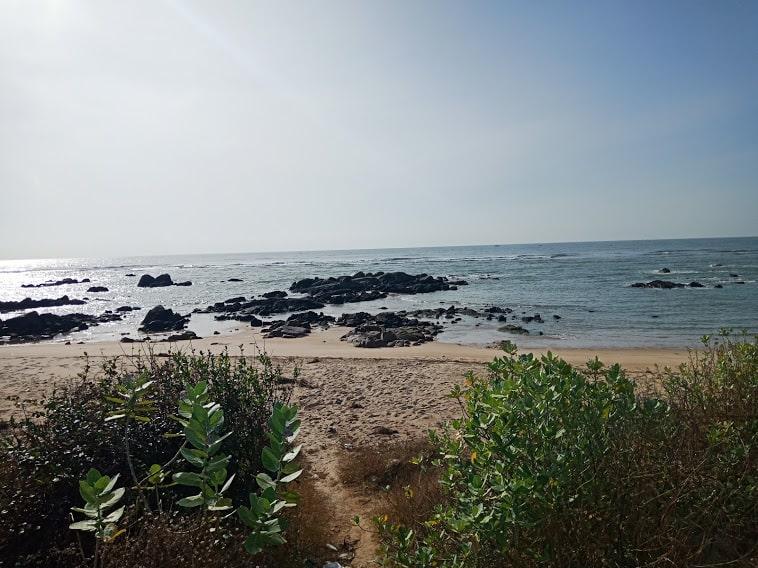 ghềnh đá hoang sơ biển Hồ Tràm - Bình Châu